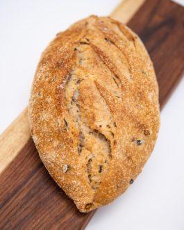 לחם מחמצת זיתים