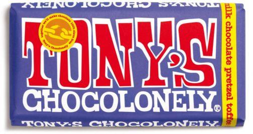 שוקולד טוניס חלב פרצל וטופי